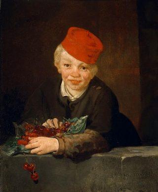 Le Garçon aux cerises -1859, Edouard Manet